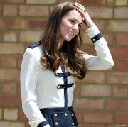 Kate Middleton's Alexander McQueen Military Blouse