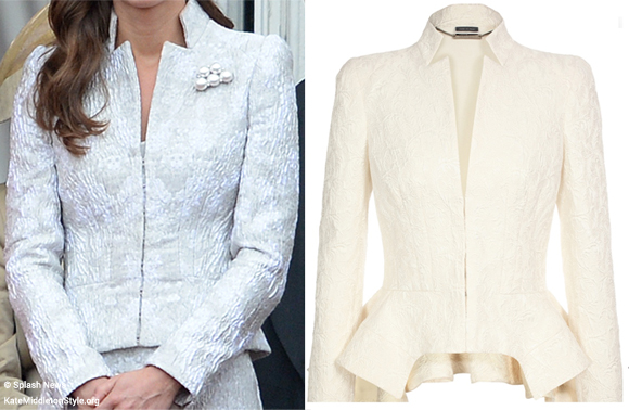 We think Kate's wearing McQueen