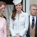 Kate on the balcony for Trooping the Colour