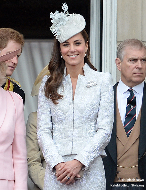 Kate attends her fourth Trooping the Colour ceremony