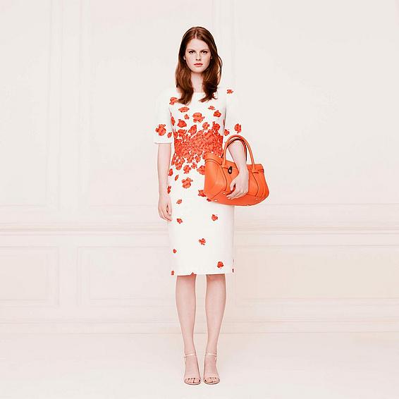 L.K. Bennett Lasa Poppy Dress