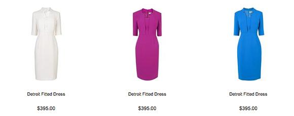 The L.K. Benett Detroit Dress comes in a range of colour options