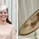 Left:  Kate during the 2012 service.    Right: Kate's hat from 2014
