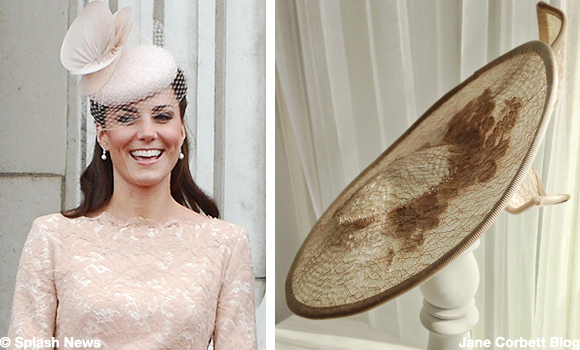 Kate looks peachy at Buckingham Palace Garden Party