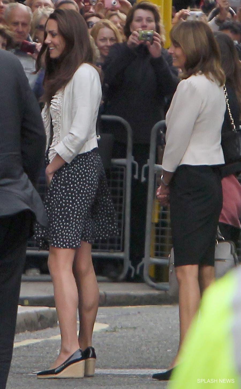 Kate Middleton wearing her LK Bennett wedges