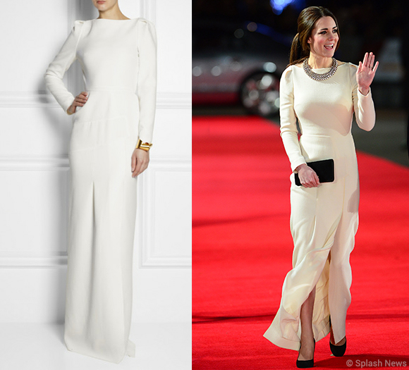 Kate's Roland Mouret Ella dress is back in stock
