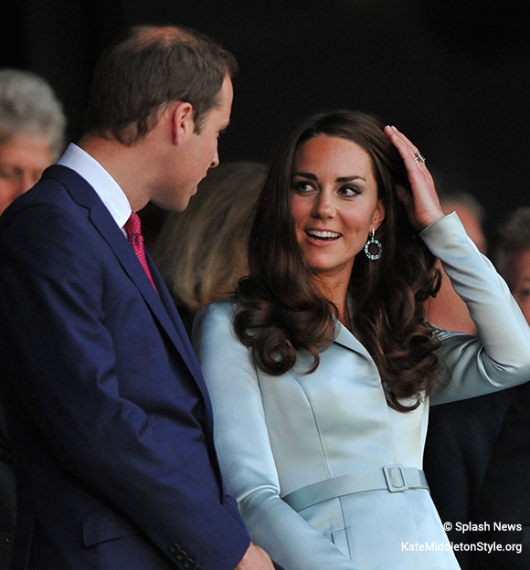 Kate at the opening ceremony for the 2012 Olympics