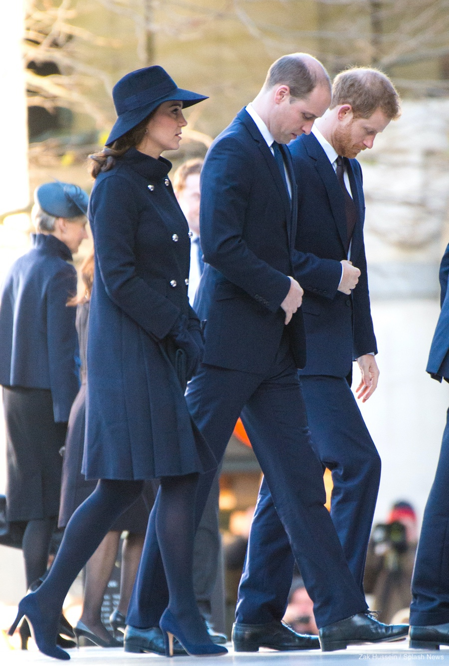 Kate Middleton wearing the Jimmy Choo Georgia pumps in 2017 during the Grenfell Tower Fire National Memorial Service