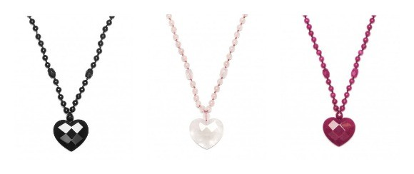 "Lola Rose ""Jezebel"" Heart Pendant Necklace"