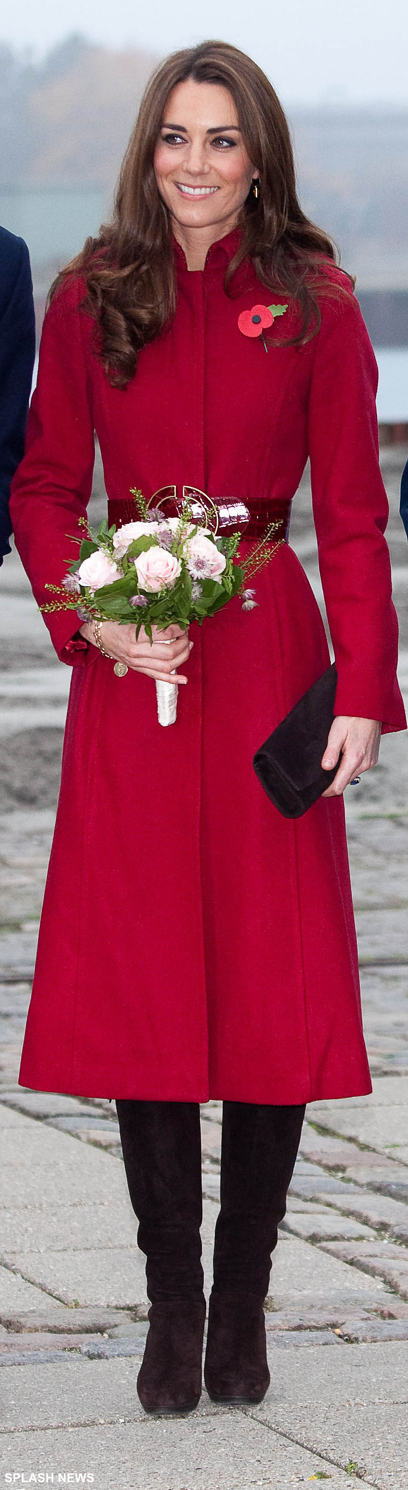 Kate Middleton wearing Stuart Weitzman boots in Denmark, 2011