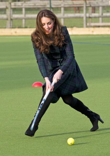 Catherine, Duchess of Cambridge Visits St Andrew's School
