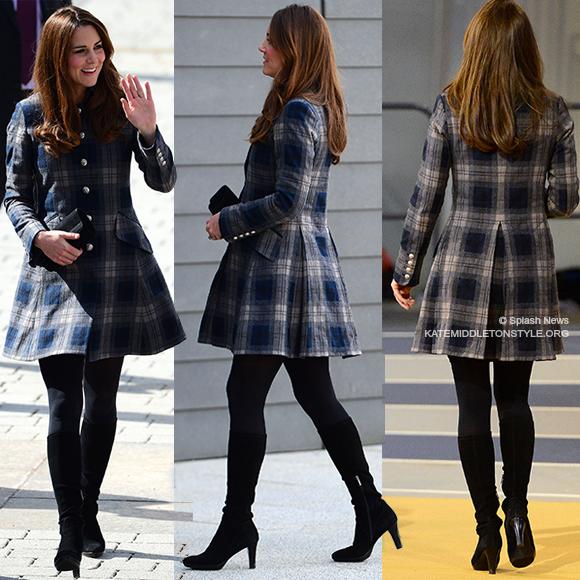 Kate Middleton wearing Aquatalia Rhumba boots