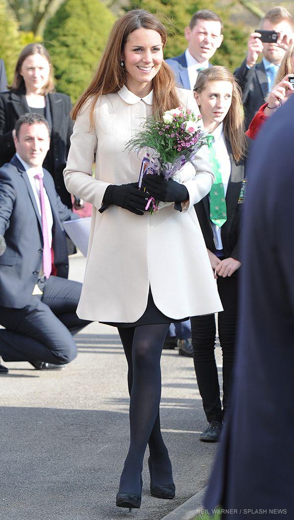 Kate Middleton wears the Goat Redgrave coat