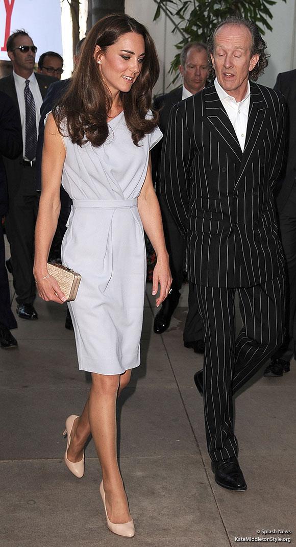 Kate wears Roksana Ilincic in Los Angeles, California, USA
