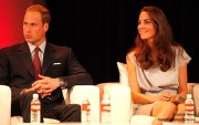 Duke of Cambridge and Catherine, Duchess of Cambridge attend Variety's Venture Capital And New Media Summit at The Beverly Hilton hotel on July 8, 2011 in Beverly Hills, California