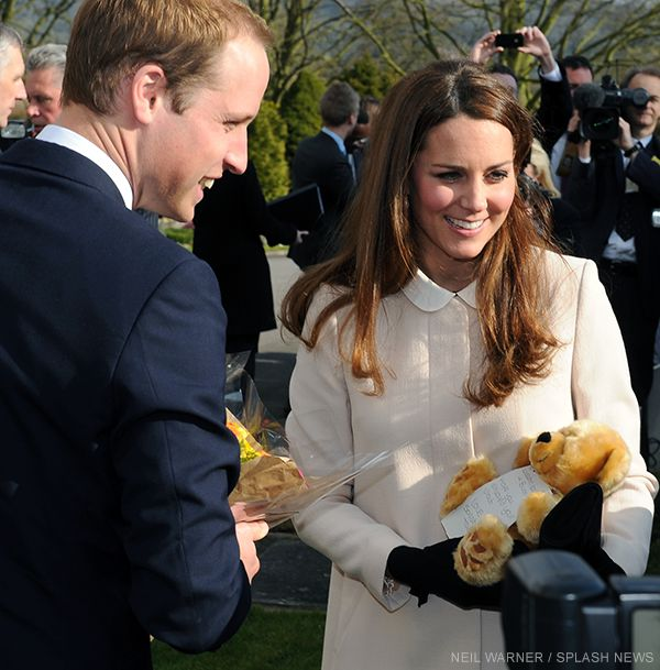 Kate and William at Child Bereavement UK
