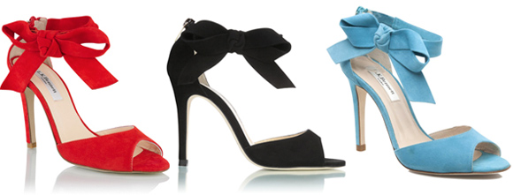 Kate's L.K. Bennett Agata sandals in different colours