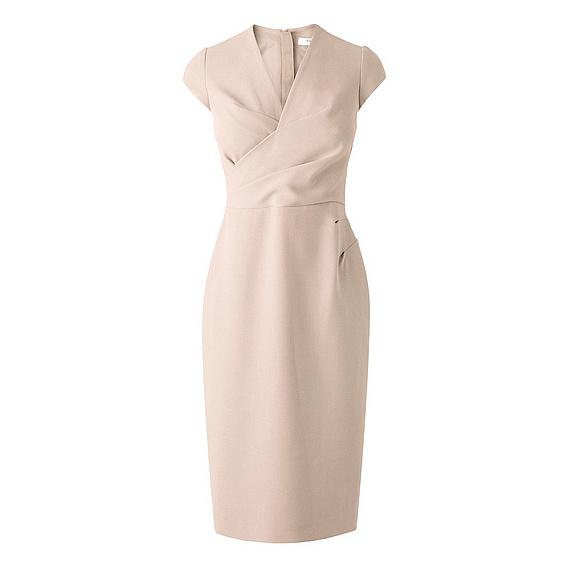 Peach dress repliKate