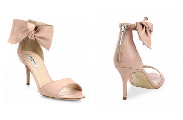 L.K. Bennett Agata heels with bow