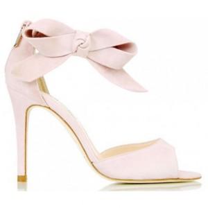 L.K. Bennett Agata sandal in Rose