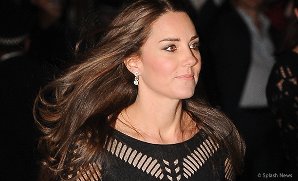 Kate attends Action on Addiction's Autumn Gala Evening dinner wearing Temperley London