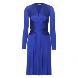 Blue Issa Wrap Dress