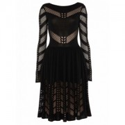 Temperley London Emblem Flare Dress