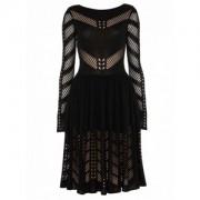 Temperley London Emblem Flare Dress