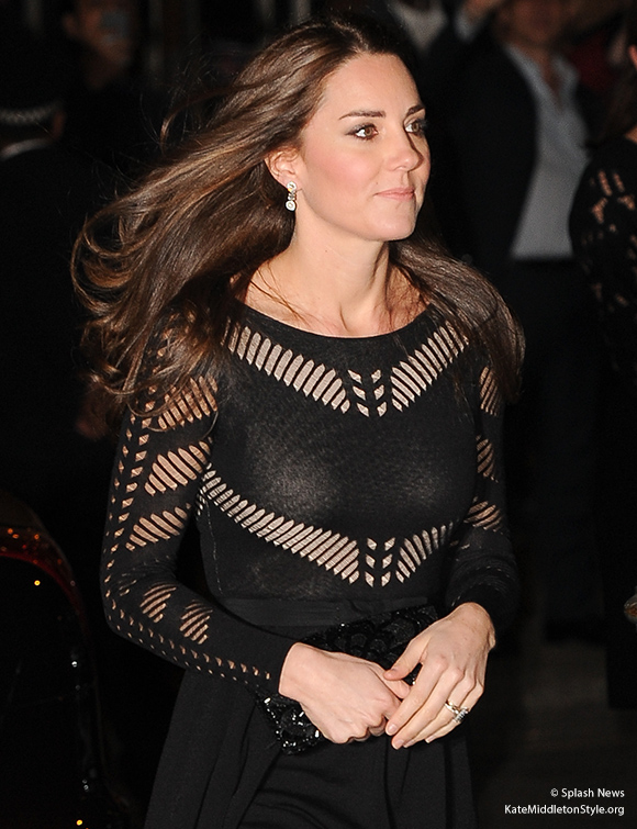 Kate attends the Action on Addiction gala