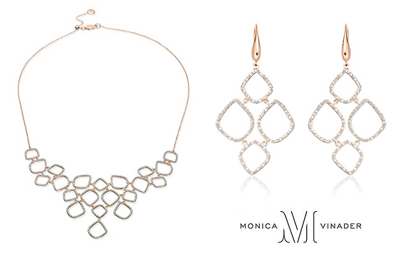 Monica Vinader Riva Necklace & Earrings