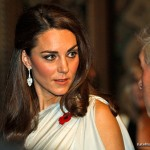 "Kate wears Beaut Jewellery's ""Ava Eva"" earrings."