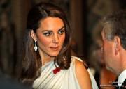 """Kate wears Beaut Jewellery's """"Ava Eva"""" earrings."""