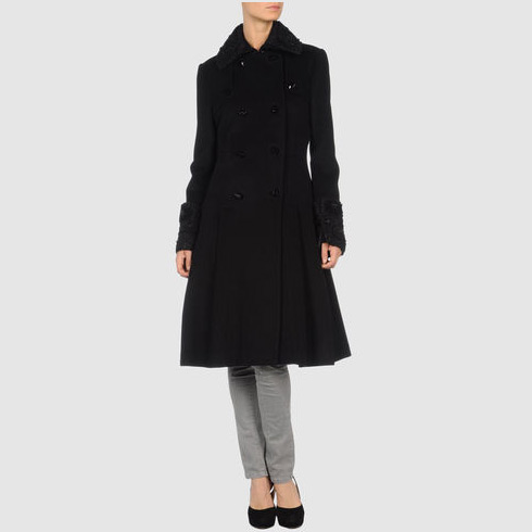 DVF Lio Wool Coat