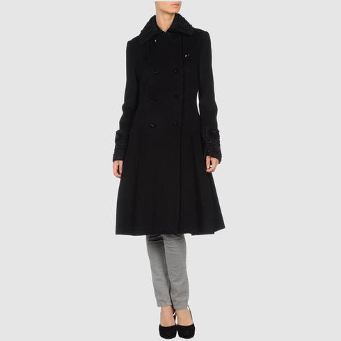 DVF Lio Wool Coat