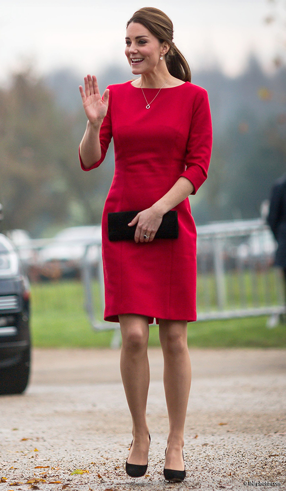 The Duchess of Cambridge visits the Norfolk Showground for the launch of EACH's appeal