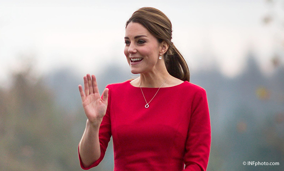 Duchess of Cambridge visits the Norfolk showground for EACH appeal launch
