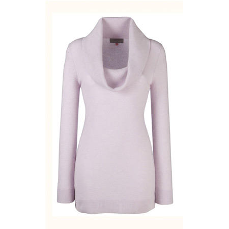 Kate Middleton's Pink cowl neck sweater from John Lewis