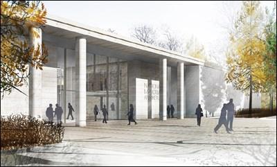 Remembrance Centre Entrance