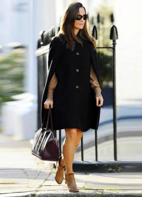 Pippa Middleton carries the Milli Millu 'Milan' Bag