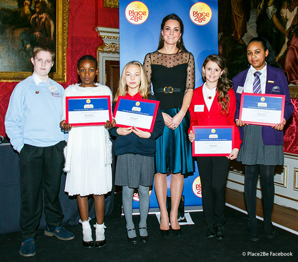 Kate attends the inaugural Place2Be Wellbeing in Schools awards