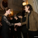 The Duchess of Cambridge meets with Harry Styles