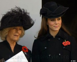 Kate wears Diane von Furstenberg to Remembrance Day Ceremony