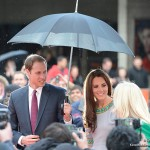 William and Kate at the African Cats premiere