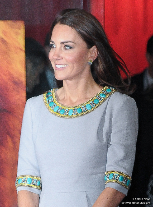 Kate at the African Cats premiere
