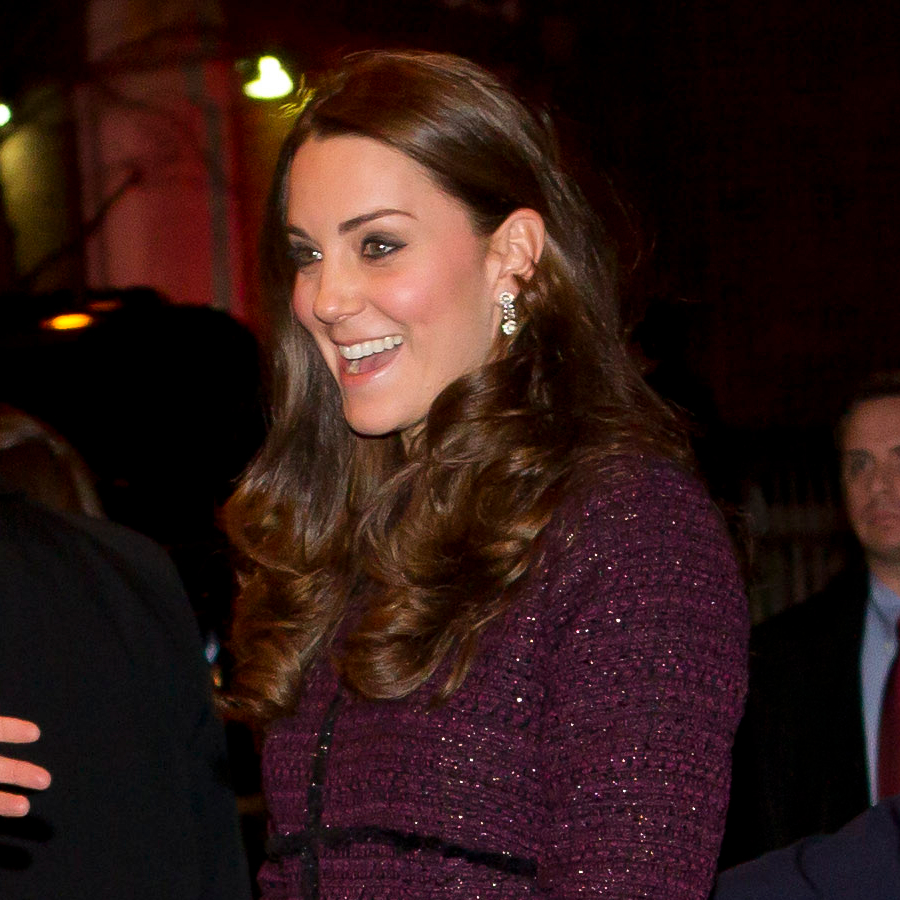 Kate Middleton's diamond earrings in New York