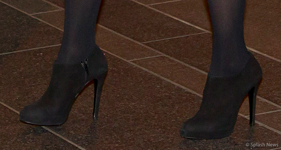 "Kate's ""shooties"" or shoe booties."