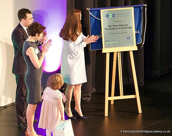 Duchess of Cambridge opens Aldridge Academy