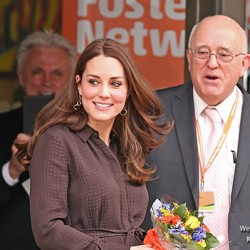 Kate 'recycles' Hobbs dress for event hosted by The Fostering Network