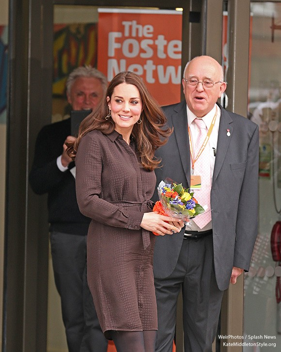Kate visits The Fostering Network