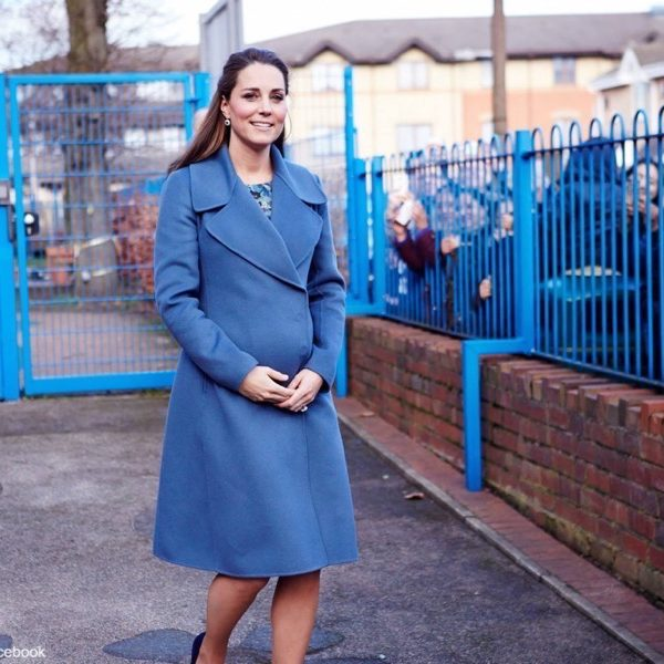 Kate Middleton visits Action for Children and Emma Bridgewater